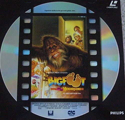 LASERDISC Bigfoot und die Hendersons PAL deutsch
