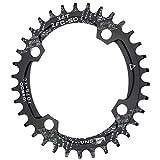 CYSKY 34T Plato Ancho Estrecho Ovalado 104BCD Cadena de Velocidad de Bicicleta para la mayoría de Bicicletas Bicicleta de Carretera Bicicleta de montaña BMX MTB (34T)