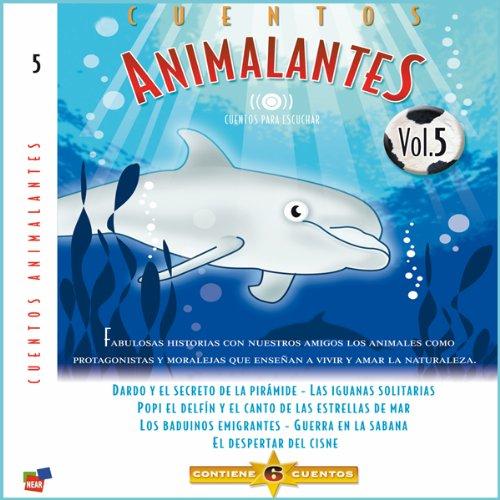 Diseño de la portada del título Cuentos Animalantes, Vol. 5
