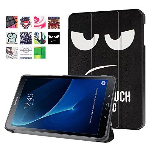 Schutzhülle für Samsung Galaxy Tab A 10.1 SM-T580 T585 Zoll Smart Slim Hülle Book Cover Stand Flip T580N T585N NEU