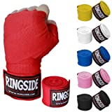 Ringside Mexican Style Boxing Hand Wraps (Pair), Electric Blue