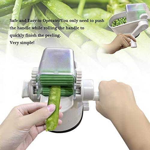 Laminador Manual para Guisantes Peeler, máquina de pelar Sheller Sheller del Cortador de la máquina de Cortar de la cortadora de la verdura de la Haba Durable