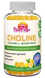 Flamingo Supplements - Choline Bitartrate Chewable Gummies. Prenatal & Nootropic Benefits. Vegetarian, Delicious Lemon Flavor. 90 Count
