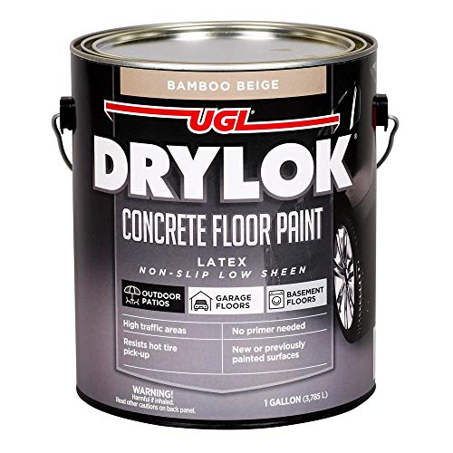 UGL 21613 1 Gallon Bamboo Beige Drylok® Latex Base Concrete Paint
