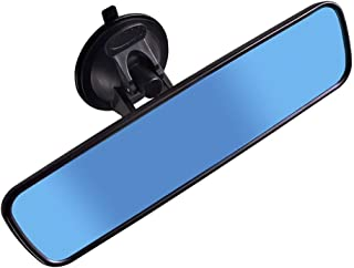 Heart Horse Anti Glare Rear View Mirror, Suction Cup Universal Rearview Mirror for Car Truck, Adjustable Interior Windshie...