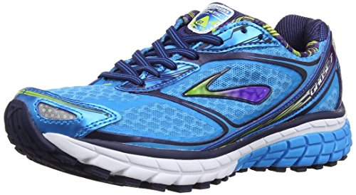 Brooks Damen Ghost 7 Women Laufschuhe, Blau (Hawaiian Blue/Eclipse/Lime Punch), 36.5 EU