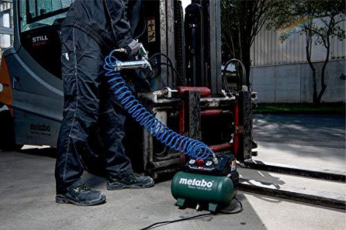 Metabo Kompressor Basic 160-6 W OF (Kessel 6 l, Max. Druck 8 bar, Ansaugleistung 160 l/min, Füllleistung 65 l/min, Max. Drehzahl 3500 /min, kompaktes Design) 601501000 - 3