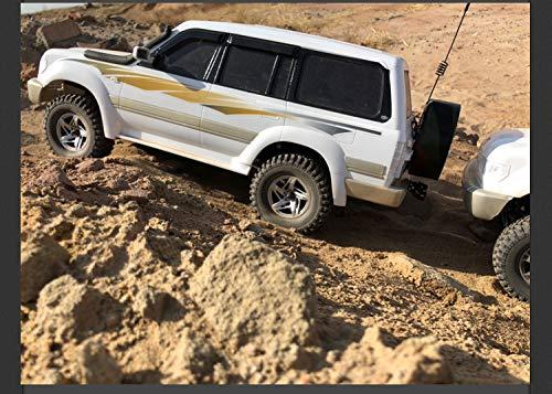 ACHICOO Autoaufkleber, Abnehmbarer Fahrzeugaufkleber Karosserie-Aufkleber für 1:10 Klettermodell Land Cruiser
