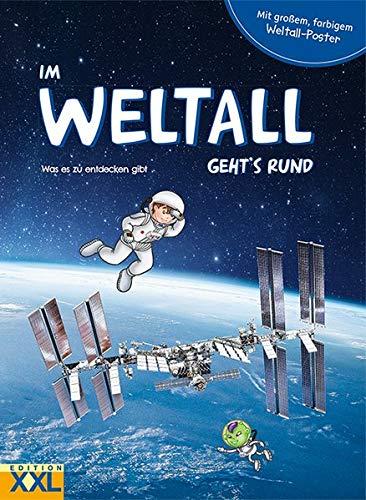 Im Weltall geht's rund - mit großem, farbigem Weltall-Poster: Was es zu entdecken gibt