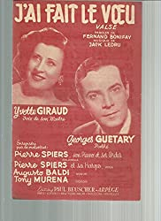 J\'ai fait le voeu - Yvette Giraud - Georges Guetary