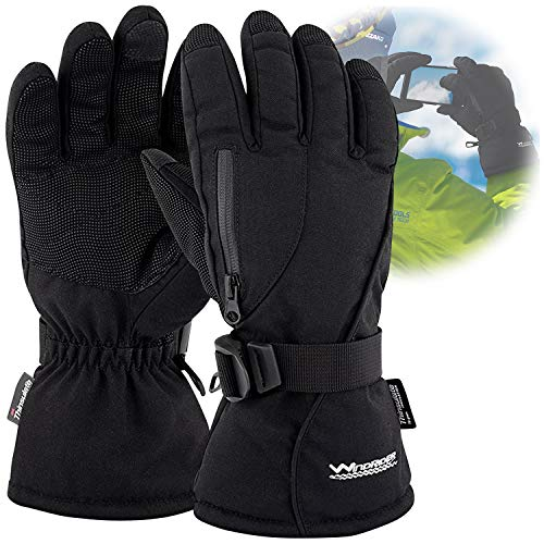 WindRider Rugged Waterproof Winter Gloves |...