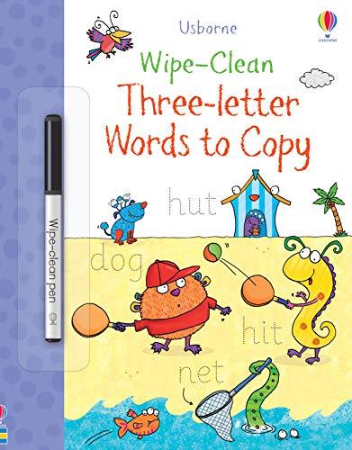 Bingham, J: Wipe-Clean Three-Letter Words to Copy (Wipe-Clean Books)