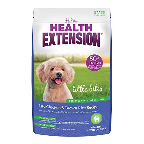 Health Extension Little Bites HEALTHY WEIGHT Dry Dog Food - Chicken and Brown Rice Recipe