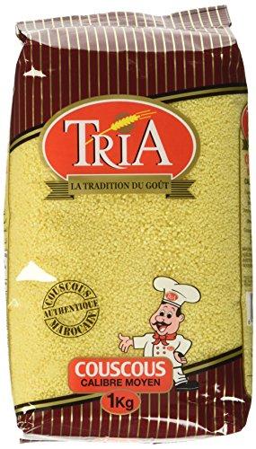 Tria Couscous Mittelgroß, 12er Pack (12 x 1 kg)