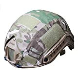 H World Shopping Outdoor Airsoft Paintball Tactical Military Gear Combat Fast Helmet Cover Multicam MC