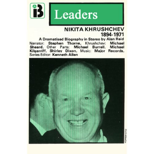 Nikita Khrushchev audiobook cover art