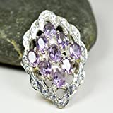 Zoom IMG-2 Jewelryonclick Naturel Am thyste Violet