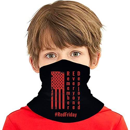 pengxuelinshop Kühlende Halsgamaschen für Kinder, erinnern Sie sich an jeden Einsatz, Gesichtsabdeckung für Mädchen