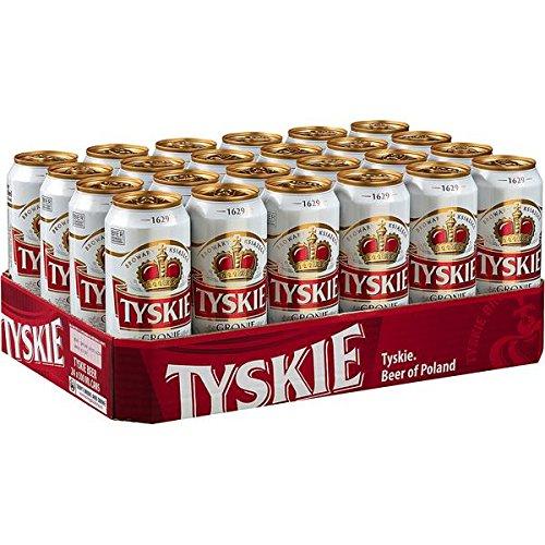 Tyskie Pils, 24er Pack, (24 x 500 ml) EINWEG