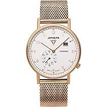 Junkers Herren-Armbanduhr Analog Quarz Edelstahl beschichtet 6732M4
