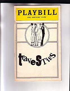 Tom Stoppard Travesties NYC Broadway Playbill 1975