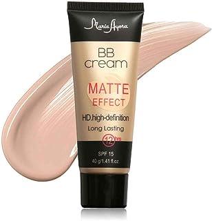 Babysbreath BB Cream Matte Effect SPF15 Alta definición cubierta natural larga duración crema facial 1#