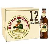 Birra Moretti Premium Italian Beer, 12 x