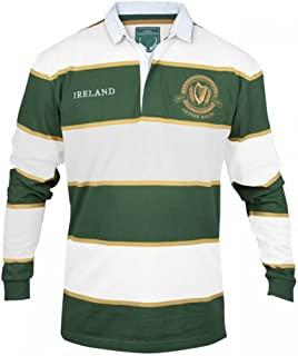 Irish Rugby Jersey - Green & White
