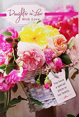 Daughter-in-Law With Love Happy Birthday Greeting Card - You Have A Special Place In Our Family