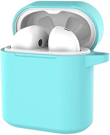 Color : Light Blue Electronics Huijunwenti FlyPods Headphones All-in-One Silicone Case for FlyPods Wireless Bluetooth Headset Comfortable to The Touch Accessories