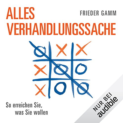 Alles Verhandlungssache audiobook cover art
