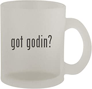got godin? - 10oz Frosted Coffee Mug Cup, Frosted