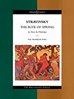 Rite of Spring: Sacre Du Printemps (Boosey & Hawkes Masterworks Library)