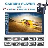 LSLYA (TM) 7inch HD bluetooth MP5 player TFT touch screen FM AM RDS Radio car...