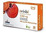 Reishi 2.000 mg 30 cápsulas vegetales con uña de gato y vitamina C…