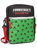 Minecraft Bolsa niños niños Enredadera Cara Juego Crossbody Merchandise Un tamaño