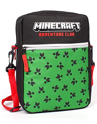 Minecraft Tasche Kinder Jungs Creeper Face Spiel Crossbody Merchandise Einheitsgröße