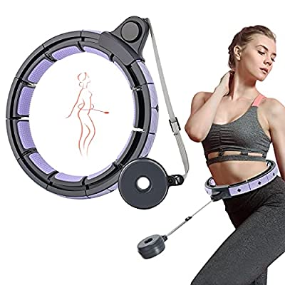 beLaxed Smart Weighted Hola Hoops for Adults - ...