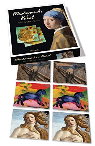 Anaconda Verlag Meisterwerke der Kunst - Das Memo-Spiel