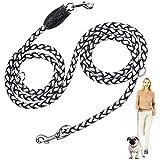Peteast Multifunktions-Hundeleine, reflektierende 8.3ft lange Hundetraining und Walking Leine für kleine, mittlere und große Hunde