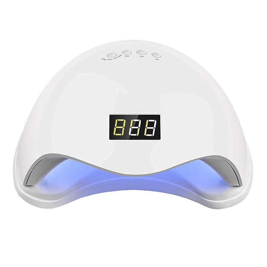 責慰め説得力のある釘ドライヤー - 自動赤外線センサー、二重光源のLEDランプのゲルのドライヤーのマニキュアが付いている紫外線携帯用LEDの釘ランプ