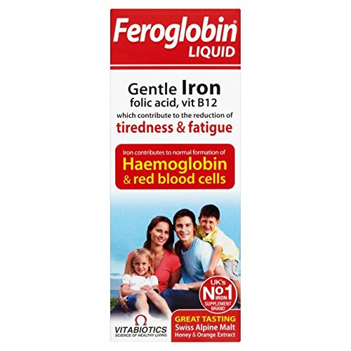 (3 PACK) - Vitabiotics Feroglobin B12 Liquid | 200ml | 3 PACK - SUPER SAVER -...