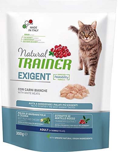 Natural Trainer Exigent Cat Essen für anspruchsvolle Katzen mit frischem Geflügel 300gr