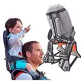 Child Shoulder Carrier Baby Saddle Hiking Backpack Foldable Shoulder Saddle Ankle Straps...