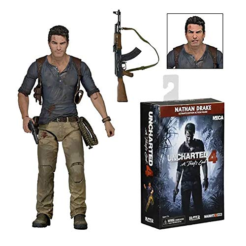 End Nathan Drake Figma Figura A de Thief: Uncharted 4