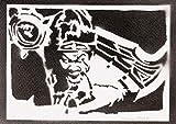 Poster League of Legends Draven LOL Grafiti Hecho a Mano - Handmade Street Art - Artwork...