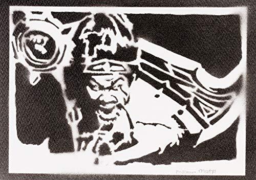 Poster League of Legends Draven LOL Grafiti Hecho a Mano - Handmade Street Art - Artwork