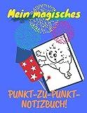 Mein magisches Punkt-zu-Punkt-Notizbuch!: [Ausmalformat 21,5x28 cm|59 Seiten][Point to Point Notebook] Thematisches Kinderaktivitätsbuch Punkt zu ... Kinder, 58 Superbild von Punkt zu verbi