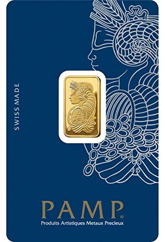 Pamp Suisse 5g Goldbarren Fortuna 999.9 Gold Blister Echtgold