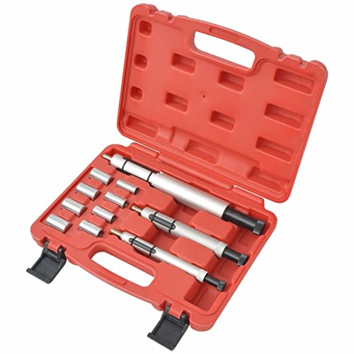 mewmewcat 11-TLG. Kupplung Zentrier Werkzeug Satz Zentrierwerkzeug Set Zentrierdorn Rot